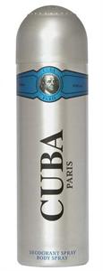 Cuba Paris Silver Blue Deodorant