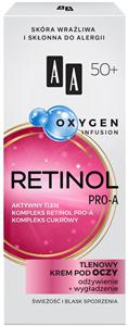 AA Oxygen Infusion 50+ Tápláló és Bőrkisimító Hatású Szemkörnyéki Krém