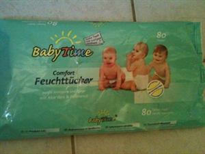 Baby Time Komfortos Nedves Törlőkendő
