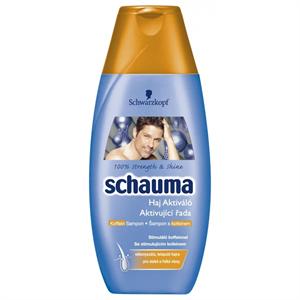 Schauma Haj Aktiváló Stimuláló Sampon Koffeinnel