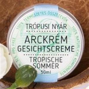 Magister Products Trópusi Nyár Arckrém Természetes Fényvédővel