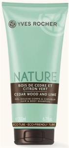 Yves Rocher Nature Homme Cédrusfa & Zöldcitrom Parfüm Tusfürdő