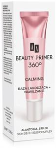 AA Cosmetics Beauty Primer 360 Calming Allantoin Skin De-Stress Complex SPF20