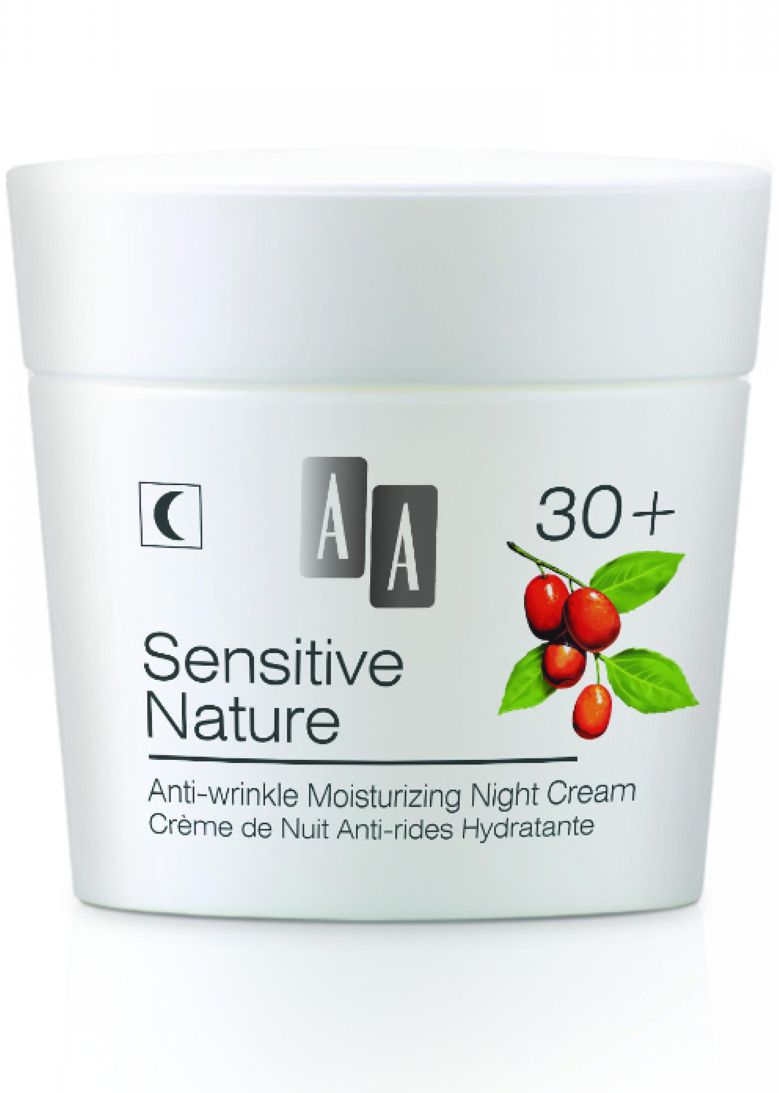 AA Sensitive Nature- Goji-Ránctalanító és Hidratáló..