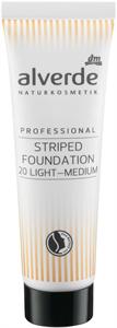 Alverde Professional Striped Foundation