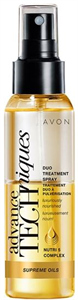 Avon Advance Techniques Supreme Oils Luxus Tápláló, Kétfázisú Hajspray