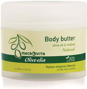 Macrovita Olive-Elia Body Butter Natural