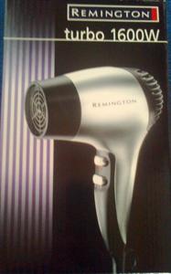 Remington Turbo Dryer 1600W D3166 Hajszárító