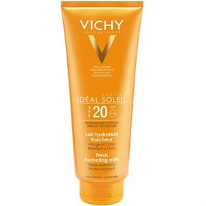 Vichy Idéal Soleil Napvédő Tej Arcra és Testre SPF20