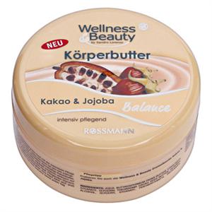 Wellness&Beauty Kakao&Jojoba Testápoló Vaj