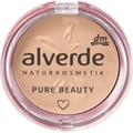 Alverde Pure Beauty Mattító Kompakt Púder