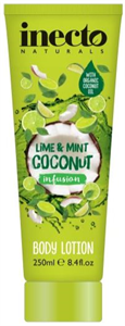 Inecto Naturals Lime & Mint Coconut Infusion Testápoló