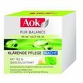 AOK Pur Balance Reine Haut ab 20 Klarende Nacht Pflege