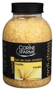 Corine De Farme Vaníliás Stresszoldó Fürdősó
