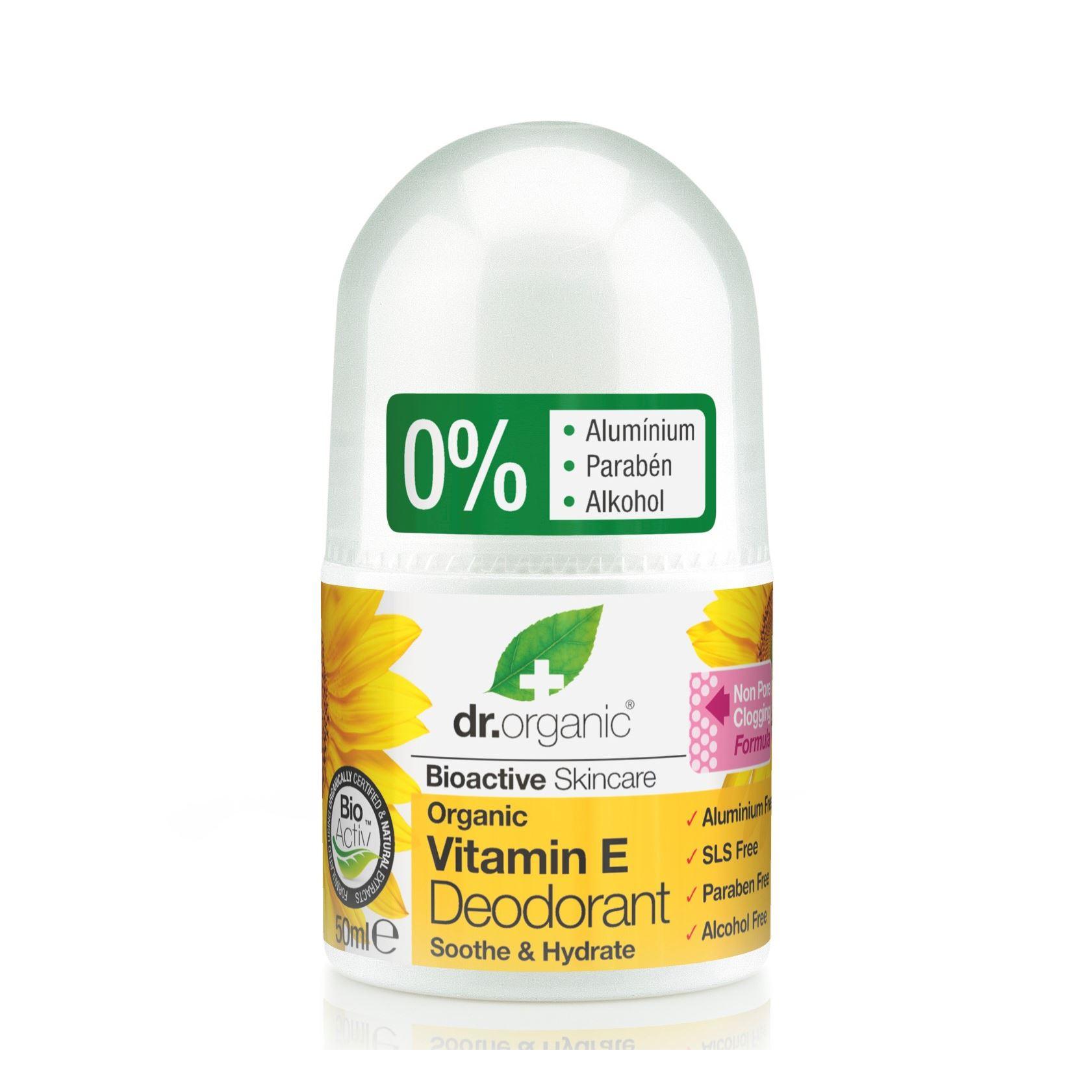 6a495a6dae dr. Organic Alumíniummentes Golyós Dezodor Természetes E-vitaminnal