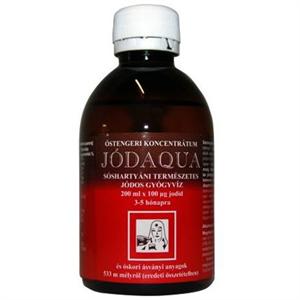 Jódaqua Jódos Gyógyvíz