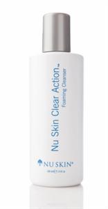 Nu Skin Clear Action Habzó Arctisztító
