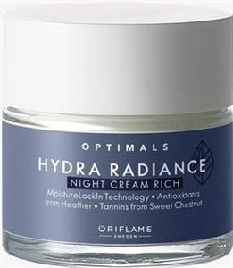 Oriflame Optimals Hydra Radiance Rich Éjszakai Krém