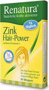 Renatura Zink Hair-Power