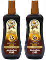 Australian Gold Spray Gel + Bronzer SPF 6, 10, 15 vagy 30