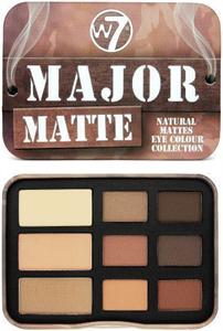 W7 Major Matte Natural Eye Colour Collection