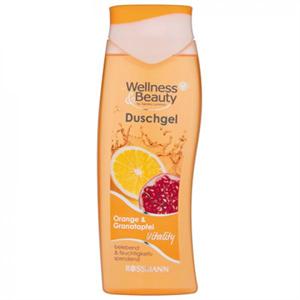 Wellness & Beauty Radíros Tusfürdő Narancs és Gránátalma