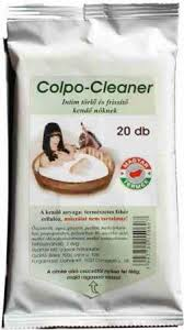 Colpo-Cleaner Nedves Intim Törlőkendő