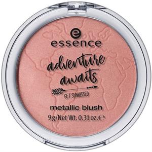 Essence Adventure Awaits Get Sunkissed Metallic Blush
