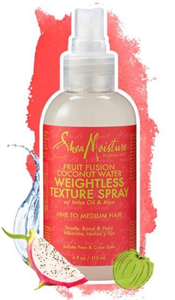 Shea Moisture Fruit Fusion Coconut Water Weightless Texture Spray