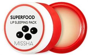Missha Superfood Black Bean Lip Sleeping Pack