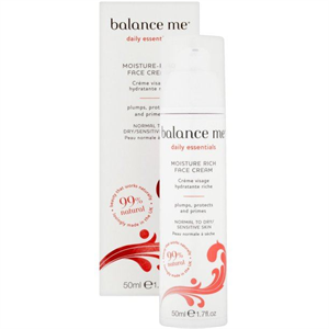 Balance Me Moisture Rich Face Cream