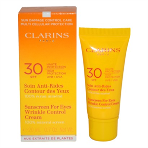 Clarins Sun Wrinkle Control Eye Contour Care High Protection Uvb/Uva30