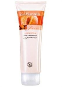 Avon Naturals Barack és Mandulatej Energizáló Arclemosó Zselé