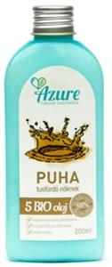 Azure Natural Cosmetics Puha Női Tusfürdő 5 Bio Olajjal Érett Bőrre