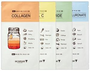 Skinfood Boosting Juice 2-Step Sheet Mask