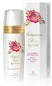 Bulgarian Rose Signature Arctisztító Gél