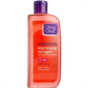 Clean&Clear Essentials Deep Cleaning Astringent Mélytisztító Arclemosó