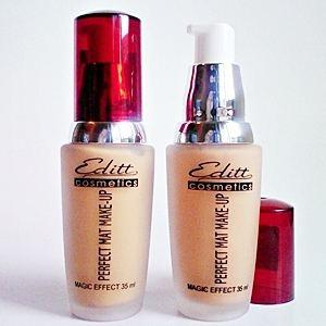 Editt Cosmetics Krémpúder Pumpás Perfect Matt Magic Effect