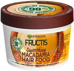 Garnier Fructis Macadamia Hair Food 3in1 Hajmaszk