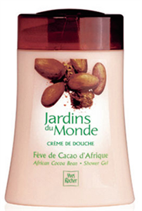 Yves Rocher Jardins Du Monde Krémes Tusfürdő Afrikai Kakaóbabbal