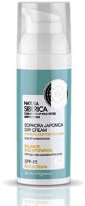 Natura Siberica Sophora Japonica Nappali Arckrém Zsíros és Vegyes Bőrre