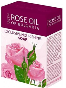 Rose Oil Of Bulgaria Exclusive Nourishing Soap