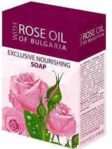 Rose Oil Of Bulgaria Exclusive Nourishing Soap