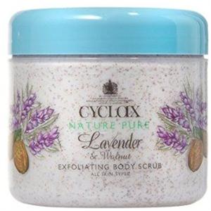 Cyclax Nature Pure Lavender & Walnut Exfoliating Bodyscrub