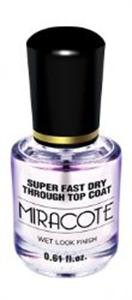 Duri Miracote Super Fast Dry Through Top Coat Fedőlakk