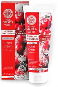 Natura Siberica Siberian Whitening & Wild Berries Hand Cream