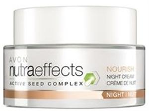Avon Nutra Effects Nourish Mélytápláló Éjszakai Krém
