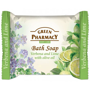Green Pharmacy Bath Soap Verbena And Lime Eith Olive Oil