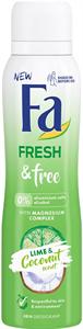 Fa Fresh & Free Lime-Coconut Deo Spray