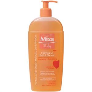 Mixa Baby Habzó Olaj Fürdéshez és Zuhanyzáshoz